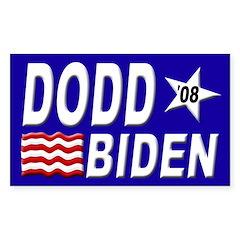 Dodd-Biden '08 bumper sticker