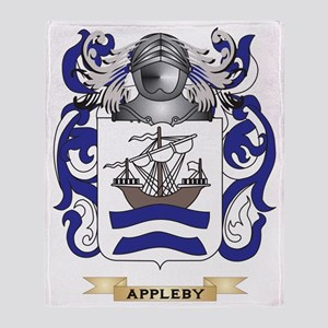 Appleby Coat of Arms Throw Blanket