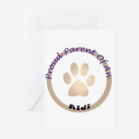 Aidi Greeting Cards (Pk of 10)