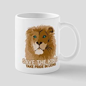 Lion Save the King Mug