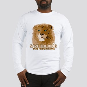 Lion Save the King Long Sleeve T-Shirt