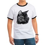 Tortoise Short-Hair Cat Ringer T