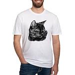 Tortoise Short-Hair Cat Fitted T-Shirt
