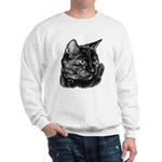 Tortoise Short-Hair Cat Sweatshirt