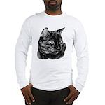 Tortoise Short-Hair Cat Long Sleeve T-Shirt