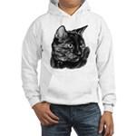 Tortoise Short-Hair Cat Hooded Sweatshirt
