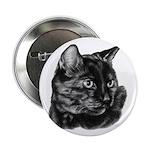 Tortoise Short-Hair Cat Button