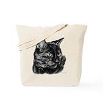 Tortoise Short-Hair Cat Tote Bag