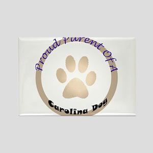 Carolina Dog Rectangle Magnet
