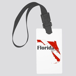 Florida Diver Large Luggage Tag
