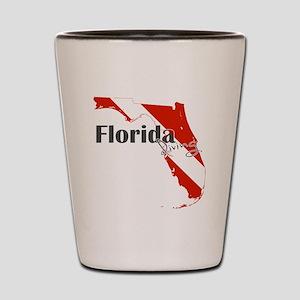 Florida Diver Shot Glass