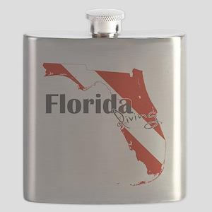 Florida Diver Flask