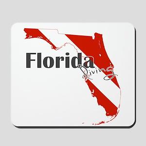 Florida Diver Mousepad