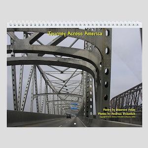 """Journey Across America"" 8.5x11 Calendar"