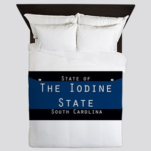 South Carolina Nickname #5 Queen Duvet