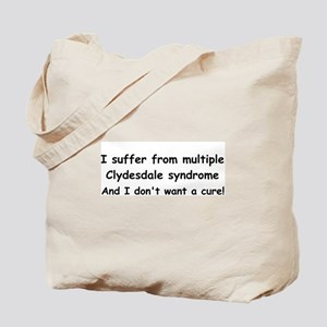 Multiple Clydesdales Tote Bag