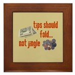Tips should fold Framed Tile