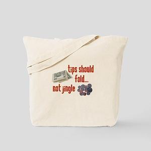 Tips should fold Tote Bag