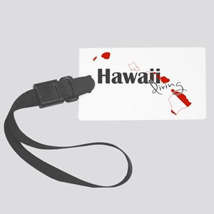 Hawaii Diver Large Luggage Tag