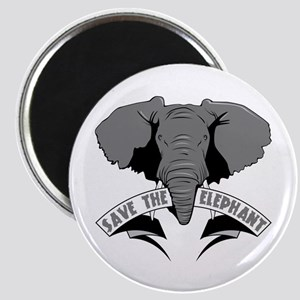 Save The Elephant Magnet