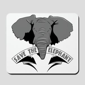 Save The Elephant Mousepad