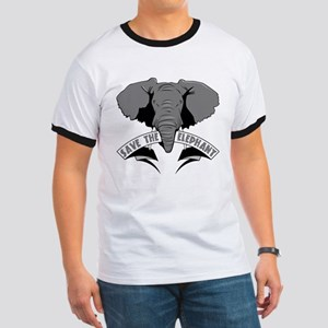 Save The Elephant Ringer T
