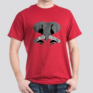 Save The Elephant Dark T-Shirt