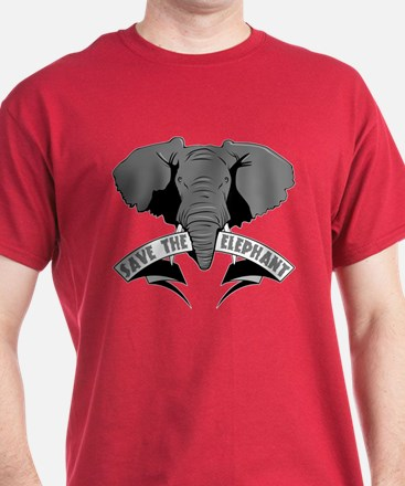 Save The Elephant T-Shirt