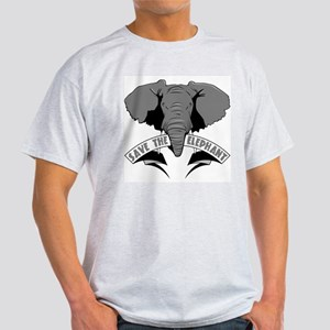 Save The Elephant Light T-Shirt