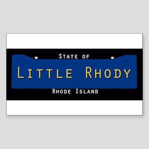 Rhode Island Nickname #2 Sticker