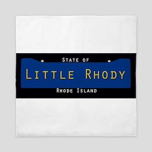Rhode Island Nickname #2 Queen Duvet