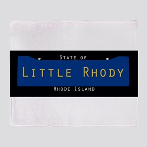 Rhode Island Nickname #2 Throw Blanket