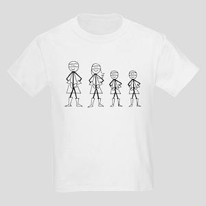 Super Family 2 Boys Kids Light T-Shirt