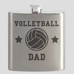 Volleyball Dad Flask
