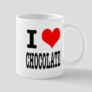 I Heart (Love) Chocolate Mug