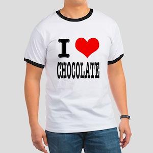 I Heart (Love) Chocolate Ringer T