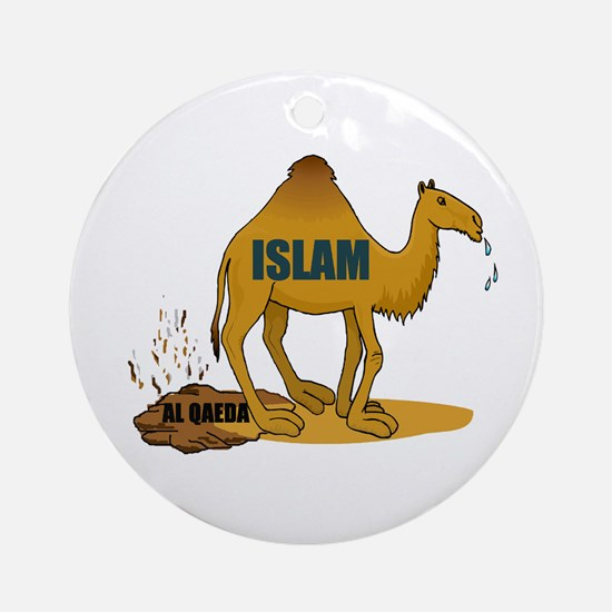 CAMEL MANURE Ornament (Round)