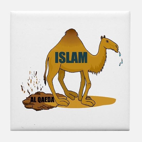 CAMEL MANURE Tile Coaster