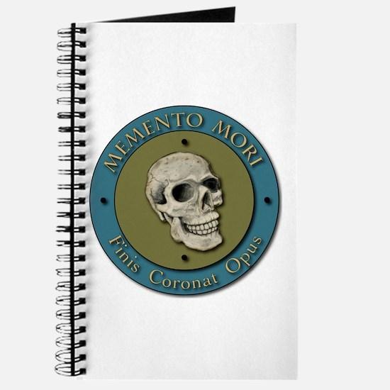 Momento Mori Skull Journal