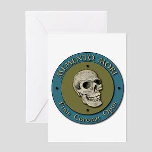 Momento Mori Skull Greeting Cards