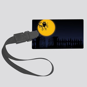 sh4_laptop_skin Large Luggage Tag