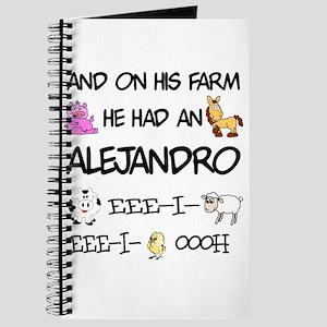Alejandro had a Farm Journal