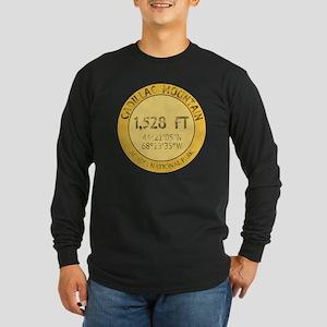 Cadillac Mountain Long Sleeve Dark T-Shirt