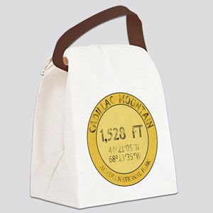 Cadillac Mountain Canvas Lunch Bag