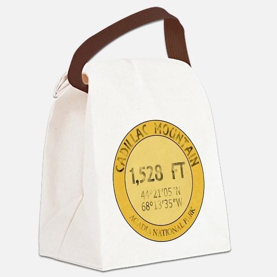 Cadillac Mountain Canvas Lunch Bag