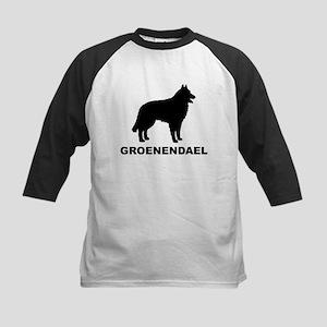 Groenendael Dogs Kids Baseball Jersey
