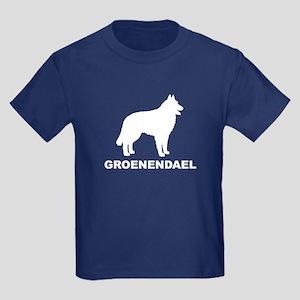 Groenendael Dogs Kids Dark T-Shirt