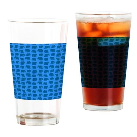 elephant pattern Drinking Glass