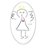 Lil Baby Angel By CHANIN Sticker