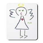 Lil Baby Angel By CHANIN Mousepad
